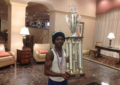 Michael Guerrier Silver Gloves Boxing Champion